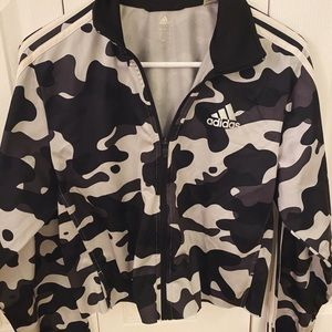 Adidas Zip up cropped